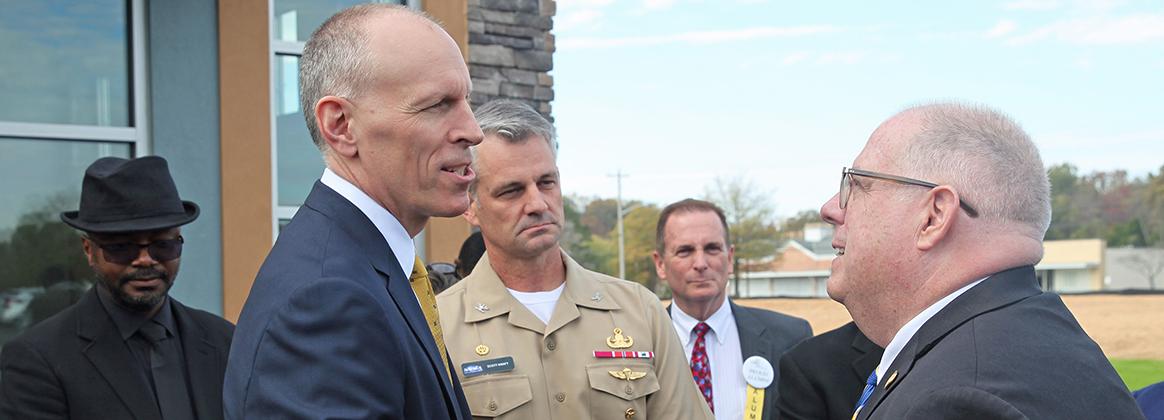 Gov. Hogan visits Velocity Center