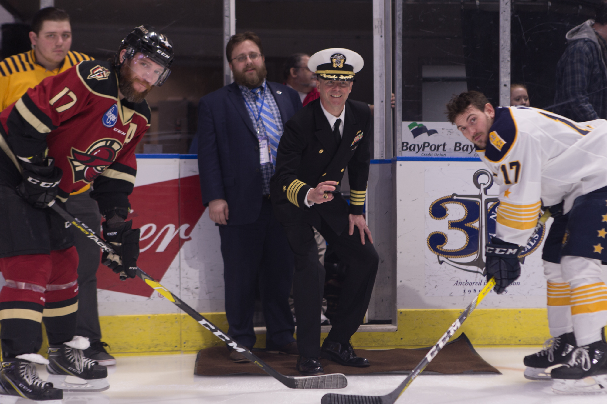 Norfolk Admirals First Drop