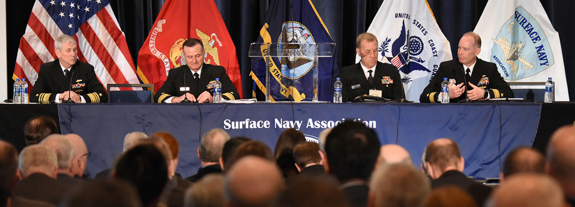 NAVSEA at Surface Navy Association 31st annual national symposium at the Hyatt Regency Hotel in Crystal City, Arlington, Virginia.
