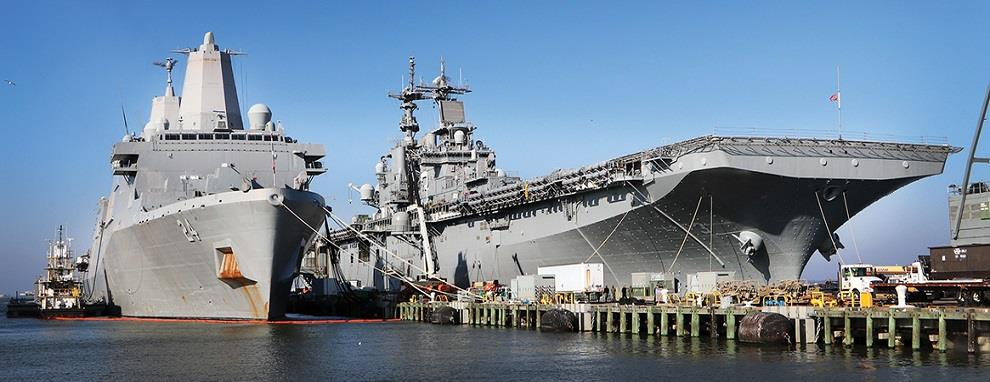 USS Kearsarge (LHD 3) and USS Arlington (LPD 24)