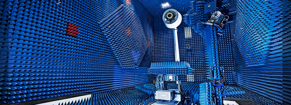 NSWC Dahlgren Division - The Link-16, AS-4127A maritime antenna is tested with compact range equipment in the specialized antenna anechoic chamber at the Surface Sensors and Combat Systems Facility at NSWC Dahlgren. (U.S. Navy photo/Released)