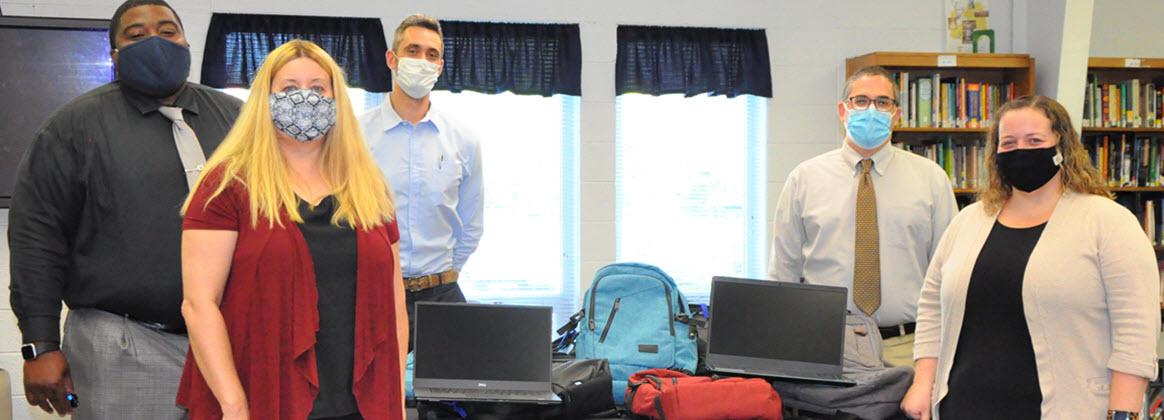NSWCDD Donates Computers to Colonial Beach Public Schools