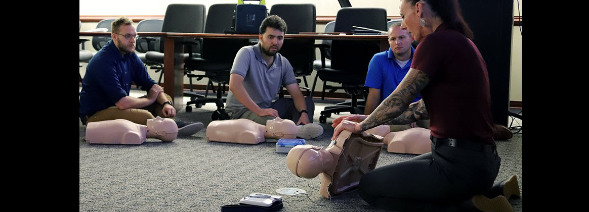NSWC Dahlgren Division Dam Neck Activity Employee Utilizes CPR Training to Save Neighbor's Life