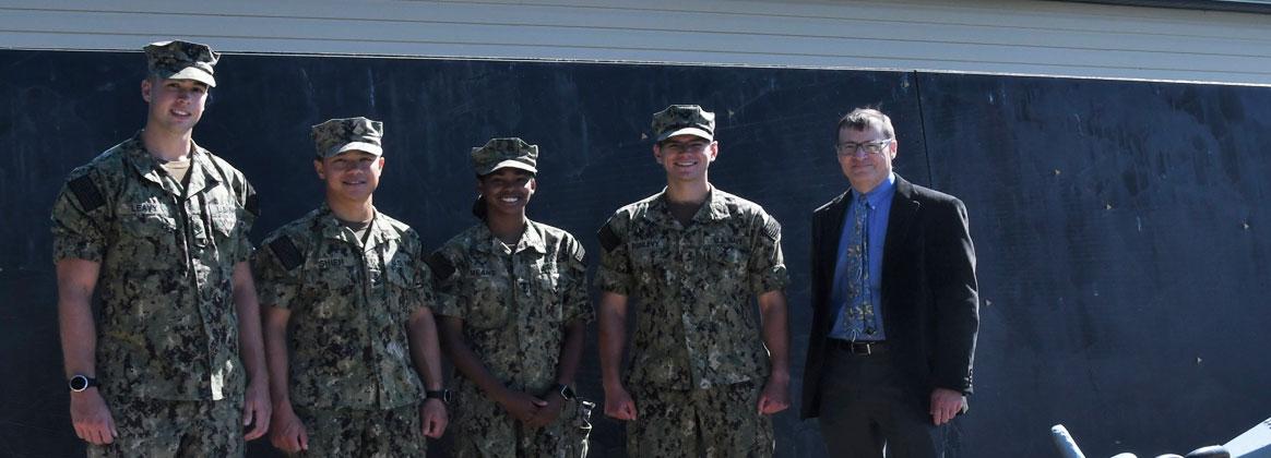 NSWC Dahlgren Division Hosts Midshipmen from NSWC Indian Head for Tour