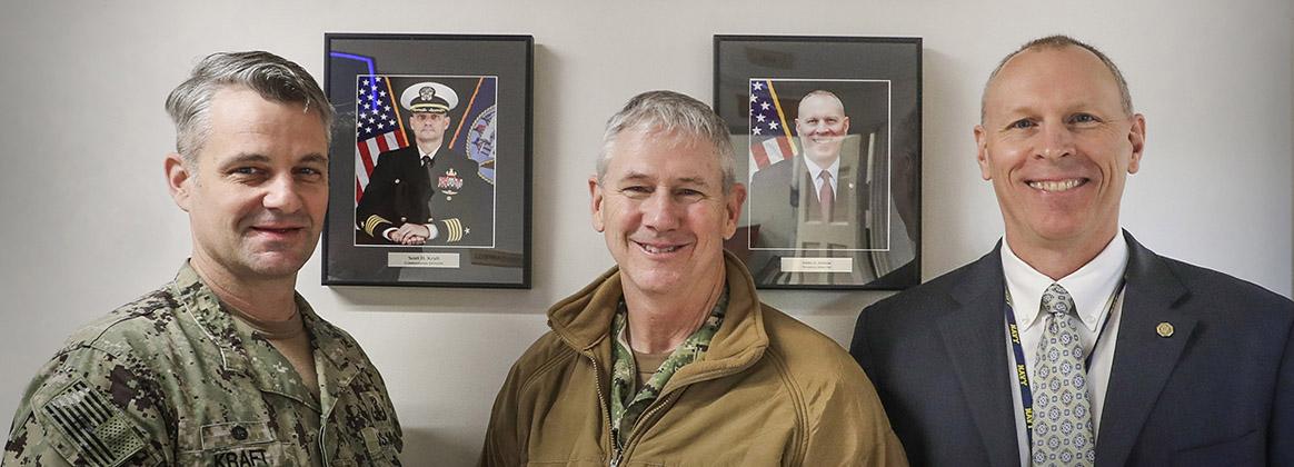 Naval Sea Systems Command (NAVSEA) Commander, Vice Adm. Thomas Moore visits NSWC IHEODTD