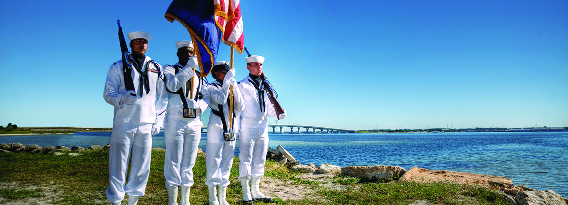 Hathaway Bridge Honor Guard Sailors