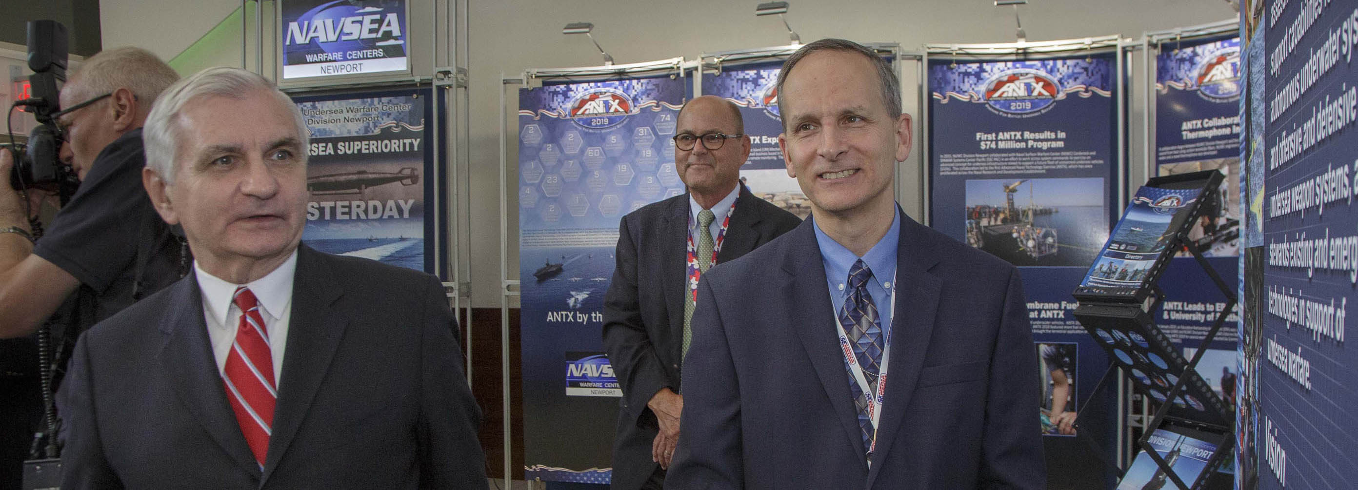 Sen. Jack Reed attends Defense Innovation Days