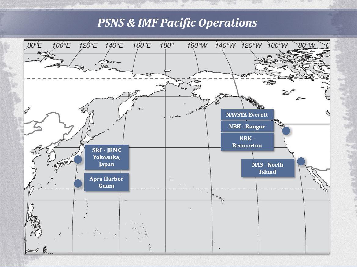 PSNS & IMF Locations