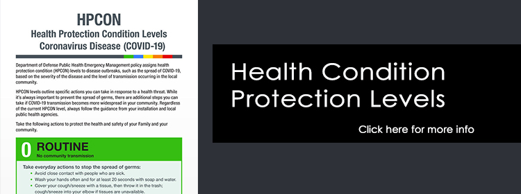 Health Protection Condition Levels