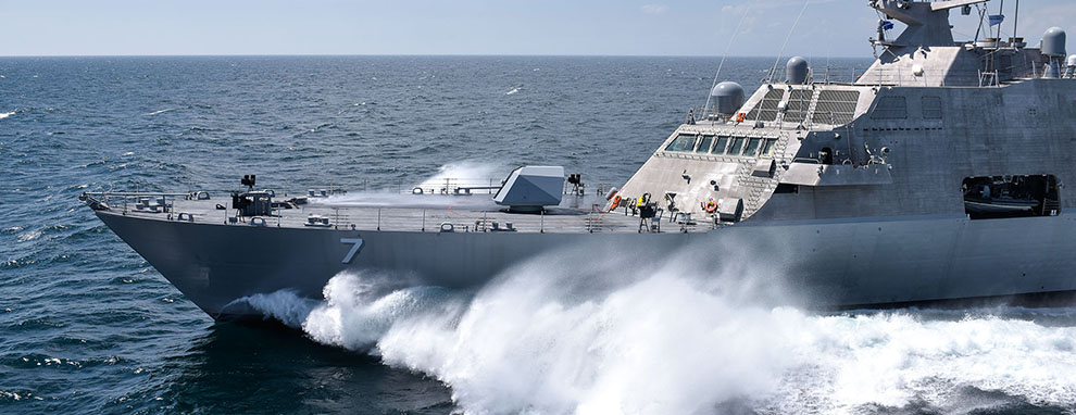 Navy accepts delivery of future USS Detroit (LCS 7)