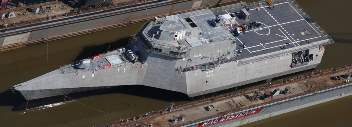 The Navy accepted delivery of the future USS Tulsa (LCS 16)