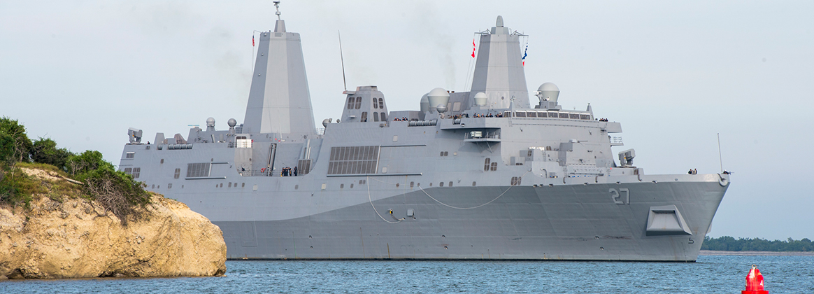 USS Portland commissioned April 21, 2018