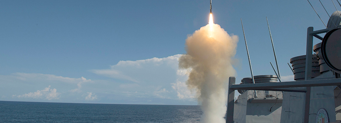 USS Arleigh Burke (DDG 51) successfully launches an SM-2 Standard Missile from the aft Vertical Launching System as part of their Combat System Ship Qualification Trials (CSSQT).