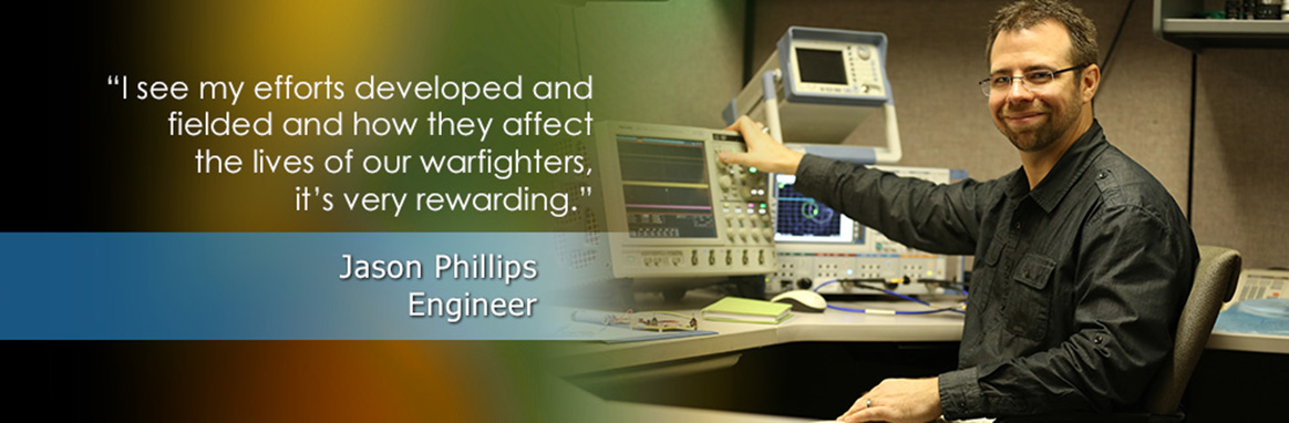 Jason Phillips, NAVSEA Engineer