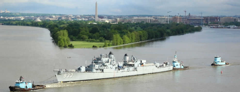 SUPSALV Supports Removal of Display Ship Barry