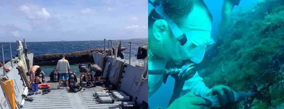 SUPSALV, MDSU1, ESSM Visit Kwajalein Atoll to Survey ex-USS PRINZ EUGEN