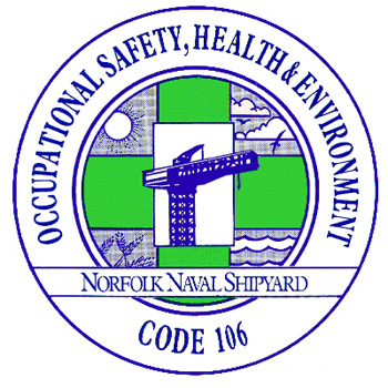 Occupational Safety, Health and Environment Code 106 badge