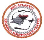 Mid-Atlantic Regional Maintenance Center badge