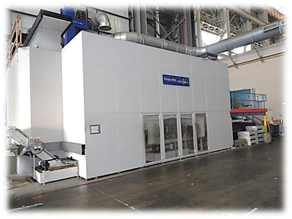 Large high speed machining center