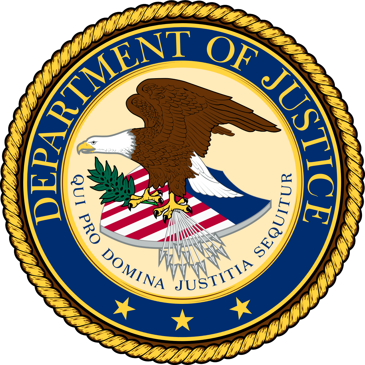 Department of Justice logo/seal