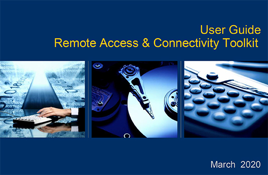 User guide - Remote access and connectivity toolkit