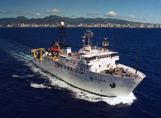 NOAA Ship OSCAR ELTON SETTE underway